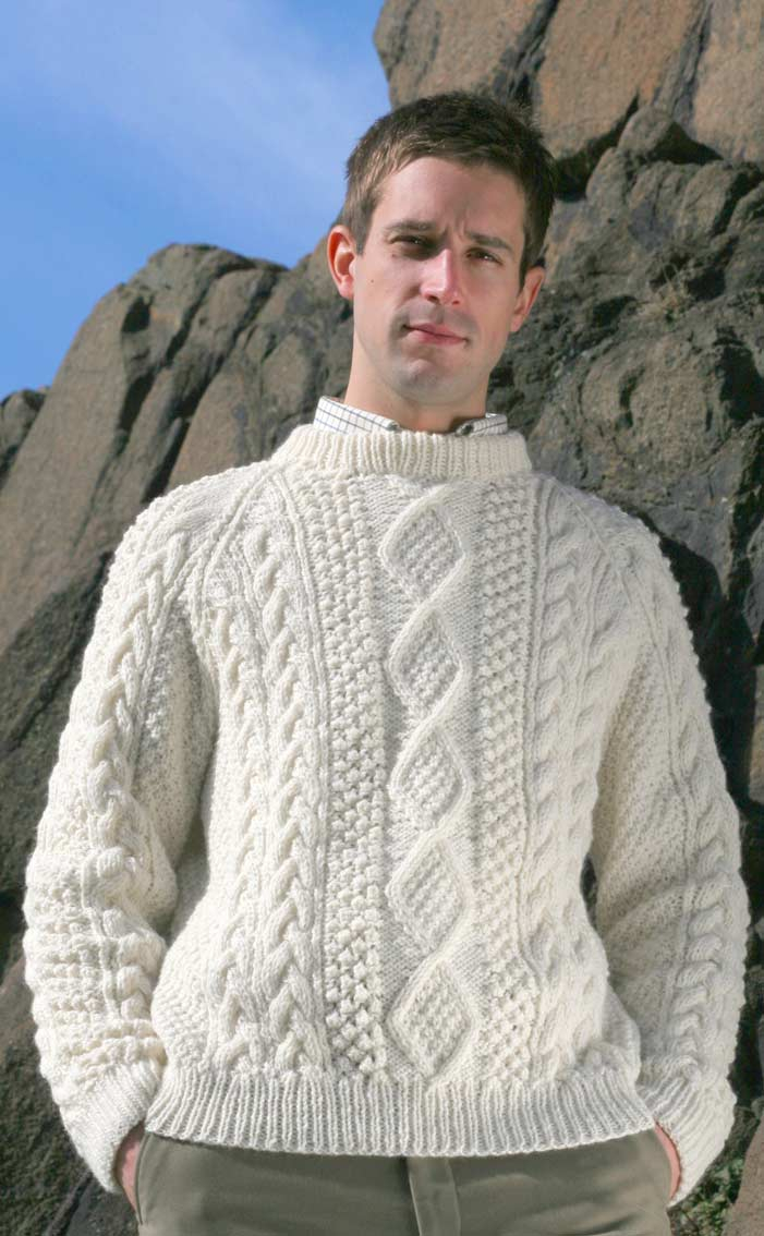 Aran Knitting Patterns Free Best Aran Knitting Patterns For Mens Sweaters Mens Aranknits