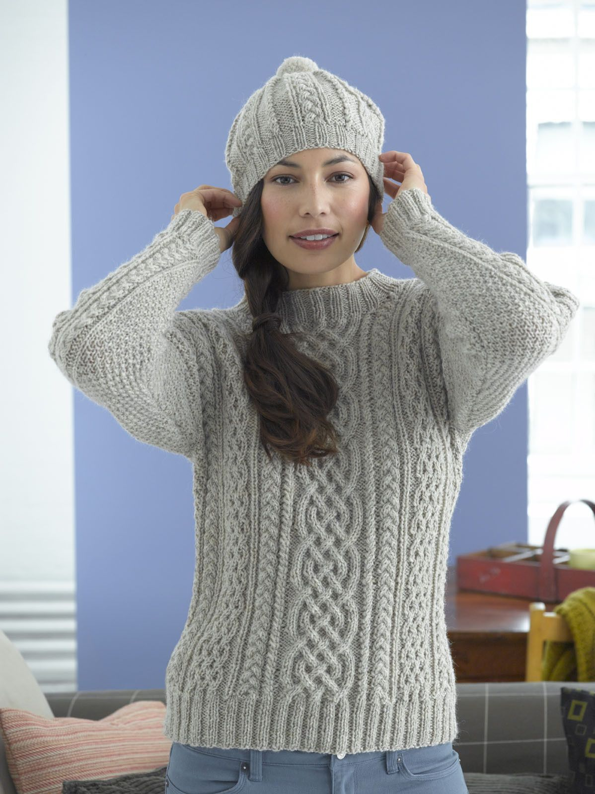 Aran Knitting Patterns Free Woman Top 5 Free Knitting Patterns For Christmas In July Chicks With