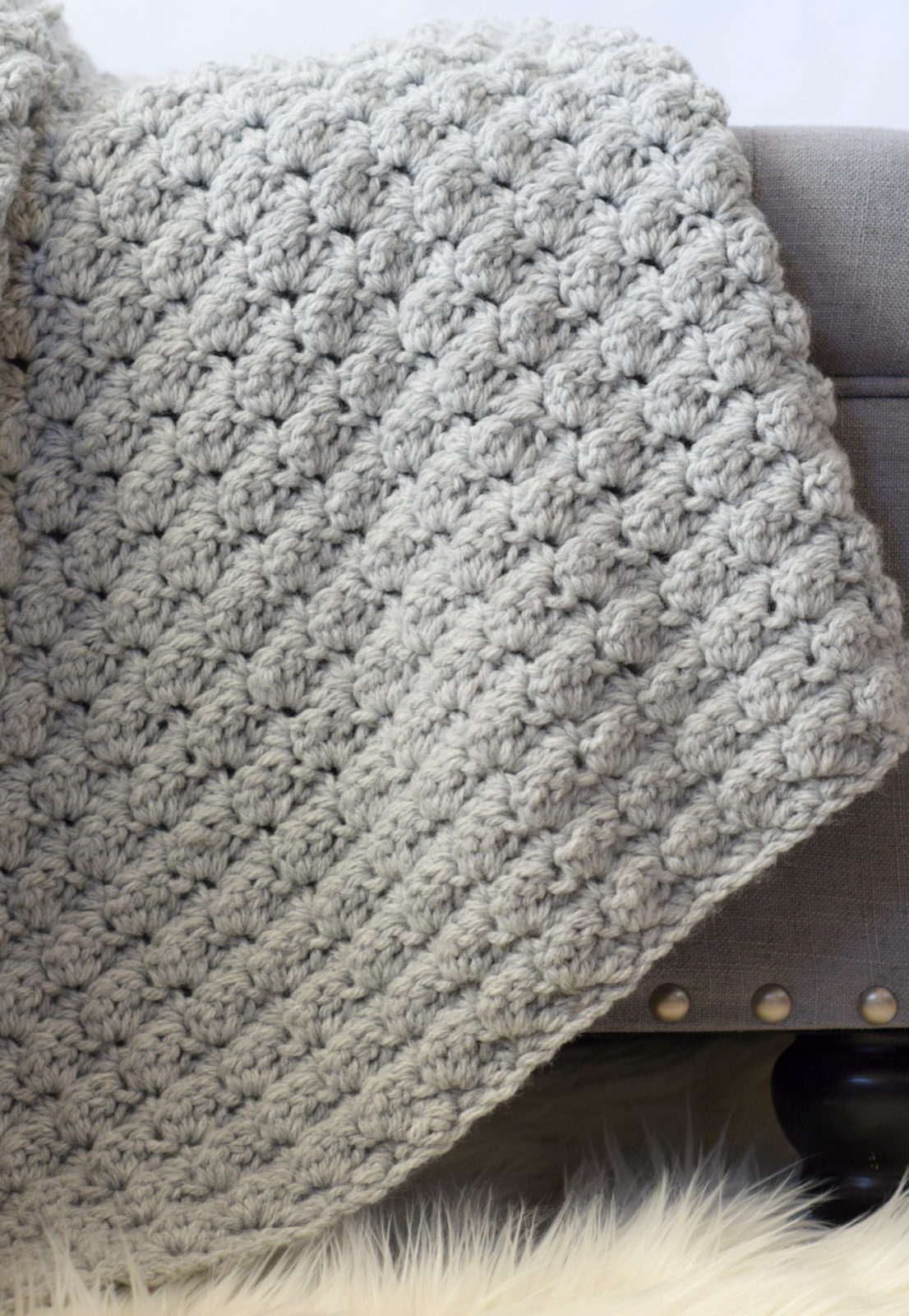 Begginer Crochet Projects Baby Blankets Simple Crocheted Blanket Go To Pattern Mama In A Stitch