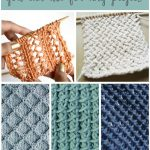 Begginer Knitting Projects Learning 18 Easy Knitting Stitches You Can Use For Any Project Ideal Me