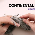 Continental Knitting Tutorial Videos How To Knit The Continental Purl Youtube