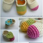 Crochet Applique Patterns Free Simple Simple Crochet Ba Booties Look At What I Made