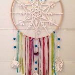 Crochet Dreamcatchers Free Patterns Snowflake Dreamcatcher After All Dreams Dont Stop Because Its Cold