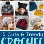 Crochet Hat Patterns Crochet Hat Patterns Happiness Is Homemade