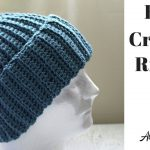 Crochet Hat Patterns Easy Crochet Ribbed Hat Beginner Crochet Youtube