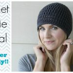 Crochet Hat Patterns How To Crochet A Beanie Tutorial Beginner Friendly Youtube