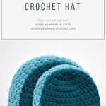 Crochet Hat Patterns Simple Double Crochet Hat Pattern Oombawka Design Crochet