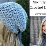 Crochet Hat Patterns Slightly Slouchy Crochet Hat Tutorial Youtube