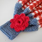 Crochet Kitchen Towel Toppers Apple Blossom Dreams Towel Toppers I