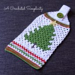 Crochet Kitchen Towel Toppers Magnificent Crochet Kitchen Towel Topper At Crochet Pattern To Make