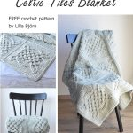 Crochet Patterns Free Celtic Tiles Blanket Free Overlay Crochet Pattern Lillabjrns