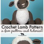 Crochet Patterns Free Free Crochet Pattern For Crochet Lamb Thefriendlyredfox