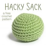 Crochet Patterns Free How To Make A Hacky Sack Shiny Happy World