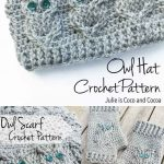 Crochet Patterns Free Owl Crochet Free Patterns Including A Scarf Gloves And Hat