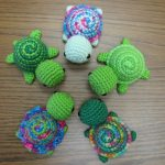Crochet Patterns Free Tiny Striped Turtles Free Crochet Pattern Ill Pin These For My