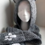 Crochet Scoodie Pattern 10 Crochet Hooded Scarves And Cowls Patterns Pinterest Cat