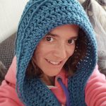 Crochet Scoodie Pattern Crochet Scoodie Pattern Cowl Hooded Scarf A Little Bit Of Lou