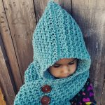 Crochet Scoodie Pattern Crochet Scoodie Pattern Crochet Pattern Hooded Scarf Child And