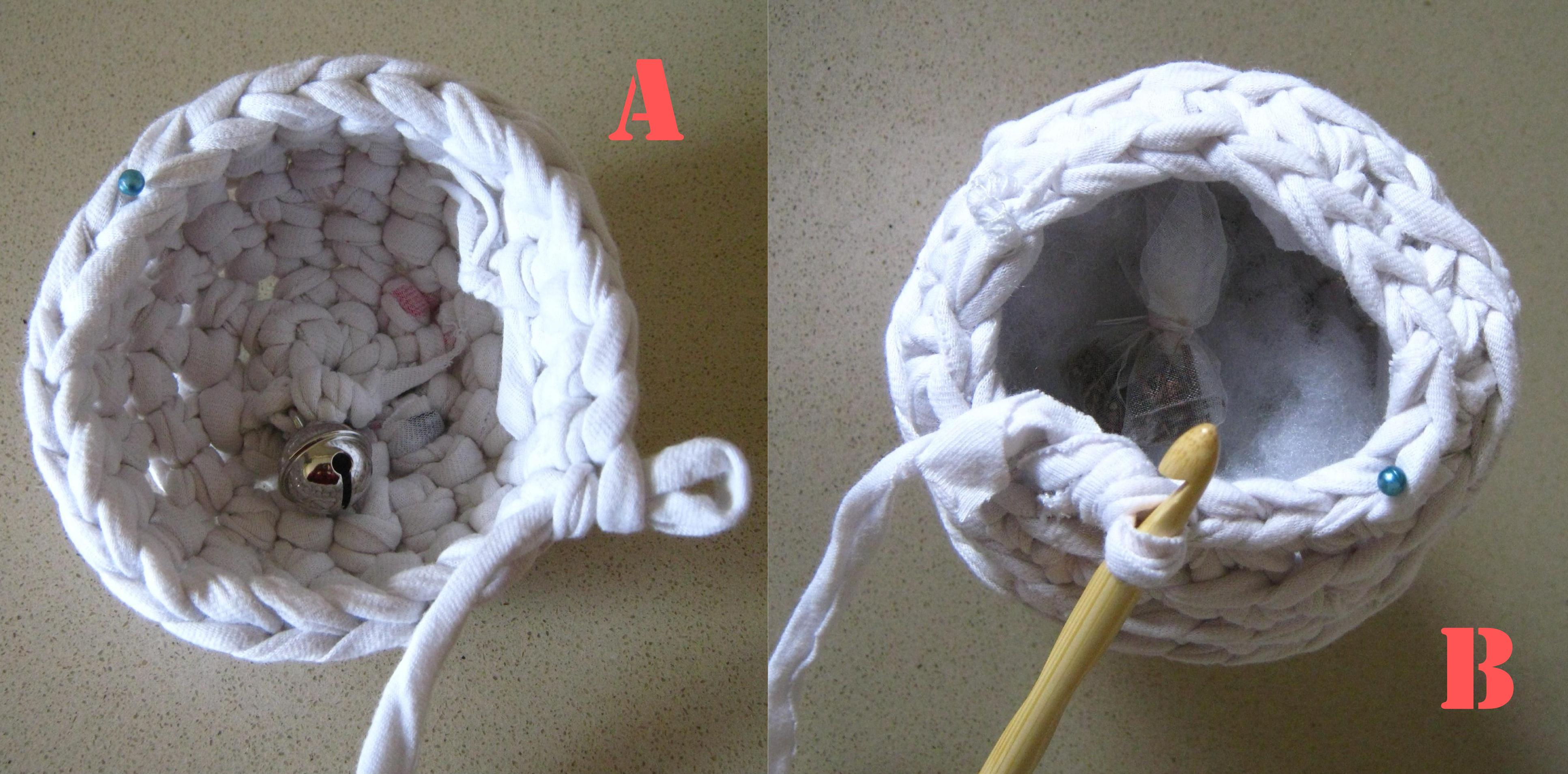 Crochet Sphere Pattern Free Free Pattern Cats Favorite Toy Crocheted Balls From A T Shirt