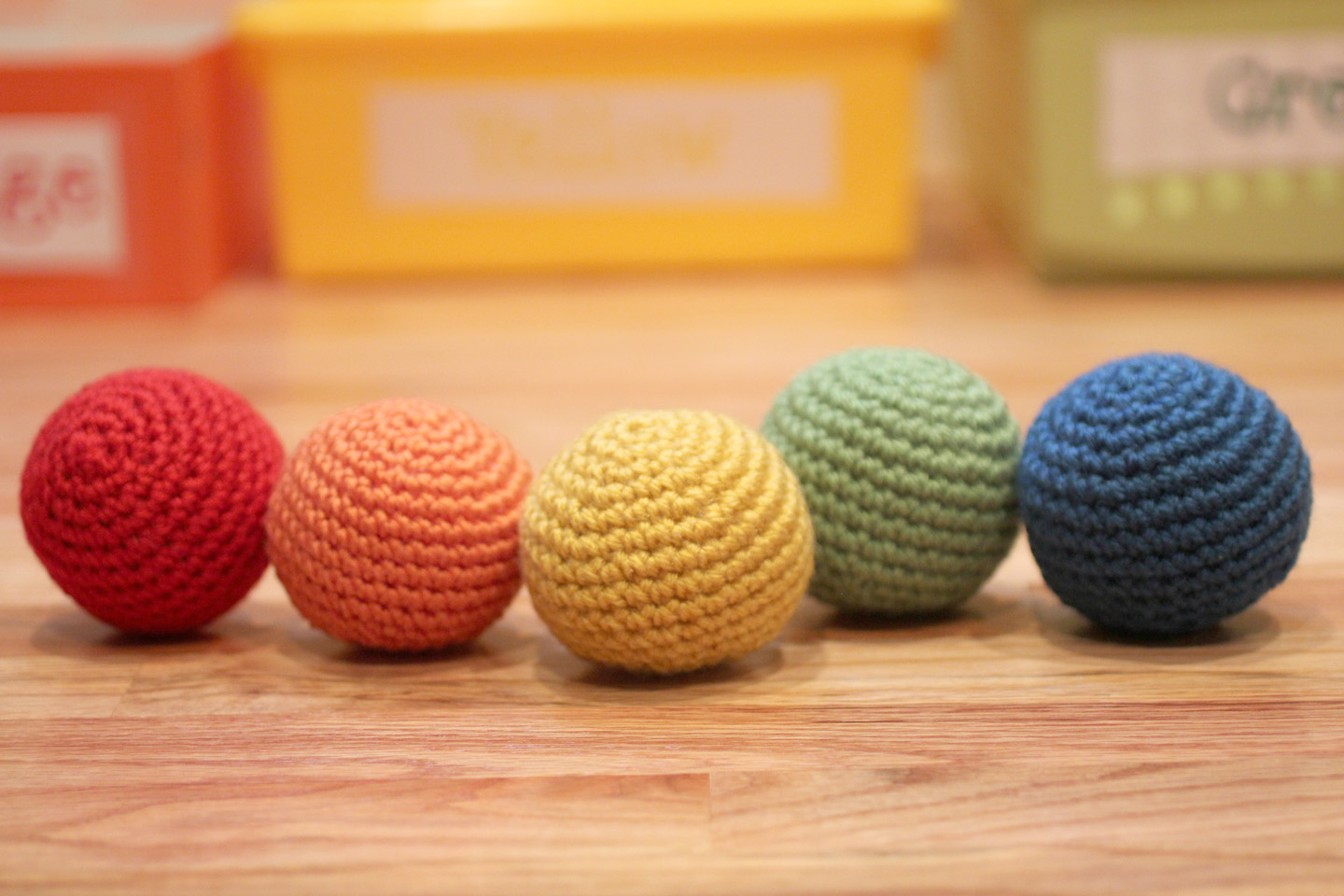 Crochet Sphere Pattern Free Rainbow Ball Toss Repeat Crafter Me