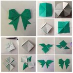 Diy Origami Easy Origami Easy Origami Bow Tie Tutorial Origami Bow Tie Instructions