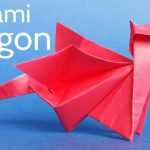 Diy Origami Step By Step Easy Origami Dragon Tutorial Step Step Instructions To Make An
