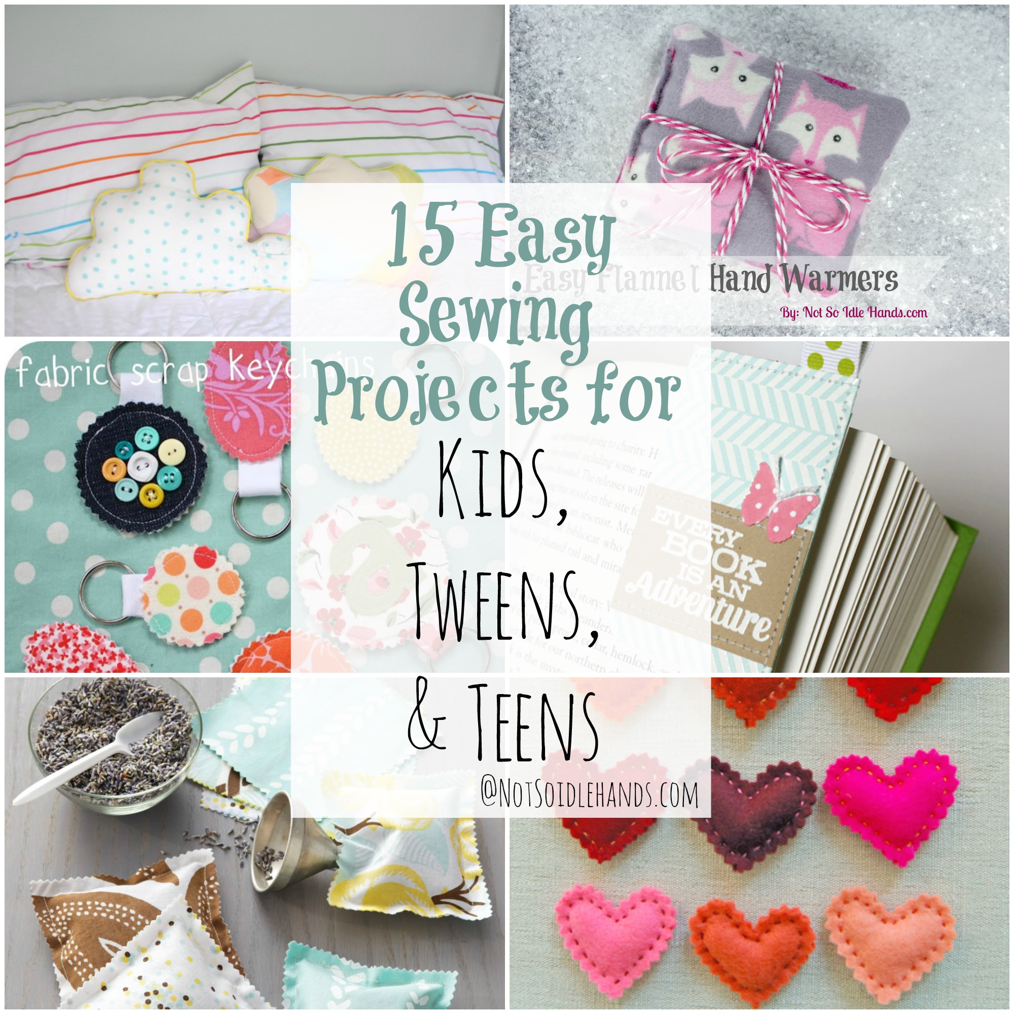 Easy Hand Sewing Projects For Kids 15 Easy Sewing Projects For Kids Tweens And Teens