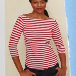 Gertie Sewing Vintage Casual Boat Neck Top From Gertie Sews Vintage Casual V Vintage Retro