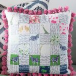 Interfacing Sewing Free Pattern Create This Easy To Sew Patchwork Pillow Using The Quilters Grid
