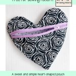 Interfacing Sewing Free Pattern Heart Pouch Free Valentine Sewing Pattern Patterns For Pirates