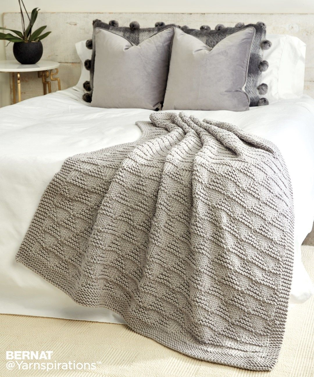 Knit Blanket Pattern Easy Afghan Knitting Patterns Afghans Pinterest Free Pattern