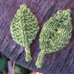 Knit Leaf Pattern Free Knitted Leaf Patterns Natural Suburbia