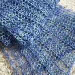 Knitting Patterns Easy Ones Free Knitting Pattern For One Row Repeat Marmalade Scarf Easy Lace