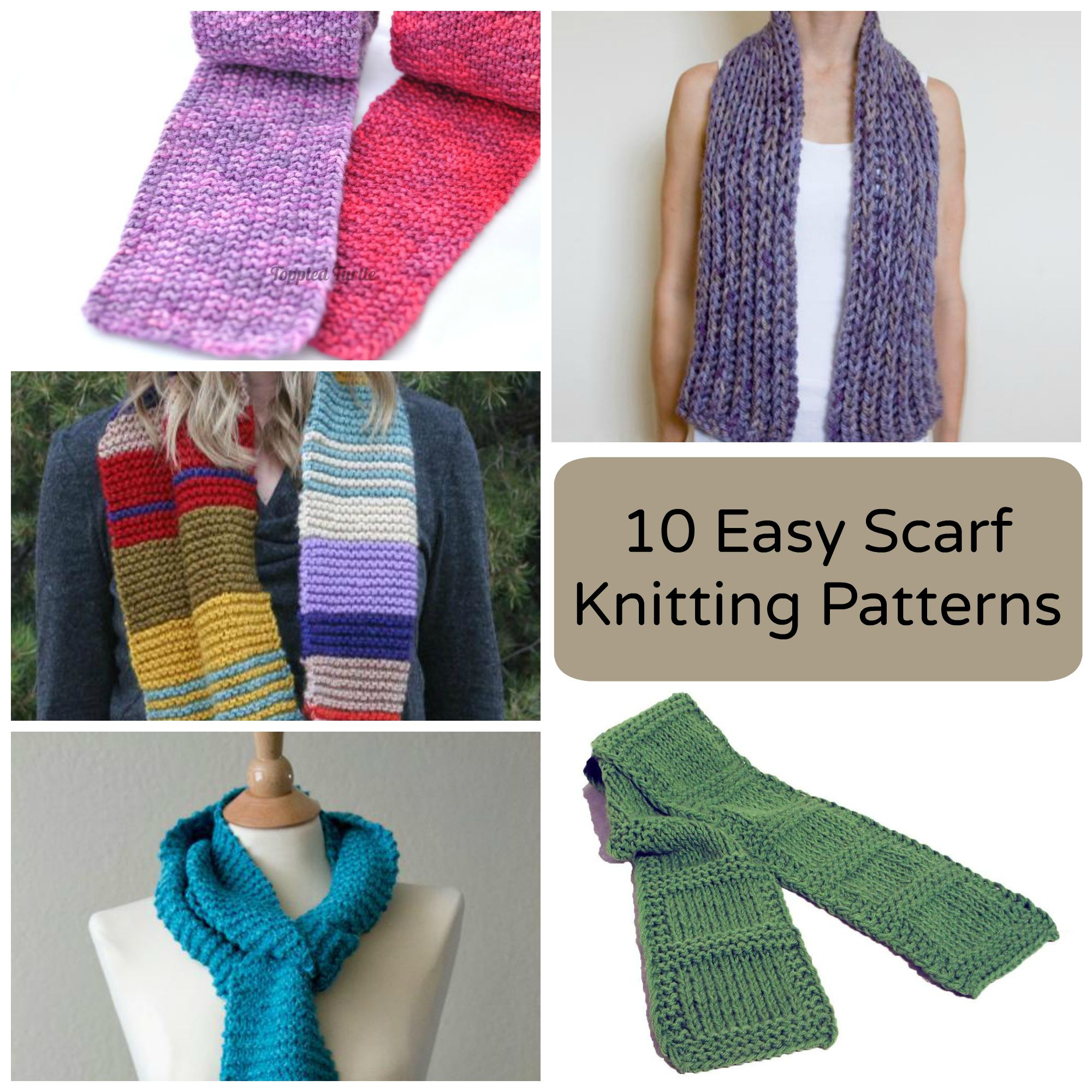 Knitting Patterns Easy Scarf 10 Easy Scarf Knitting Patterns For Beginners