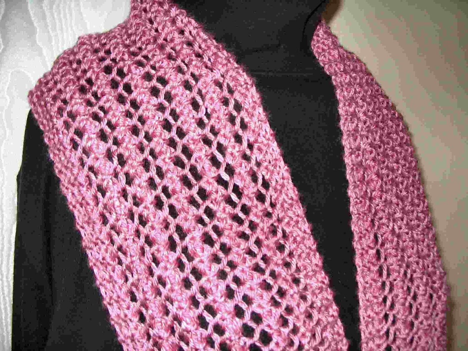 Knitting Patterns Easy Scarf Easy Scarf Knitting Patterns Beautiful Knitted Lace Scarf Four