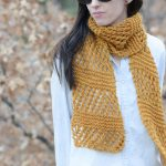 Knitting Patterns Easy Scarf Honeycombs Summer Easy Scarf Knitting Pattern Mama In A Stitch