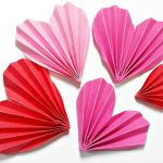 Origami Crafts Decoration Origami Heart 3d For Decorationdiy Crafts Paper Hearts Design