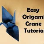 Origami Crane Instructions How To Make Origami Crane Tutorial Easy Origami For Beginners