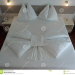 Origami Decoration Bedroom Bed Origami Stock Image Image Of Hotel Luxury Design 47372169