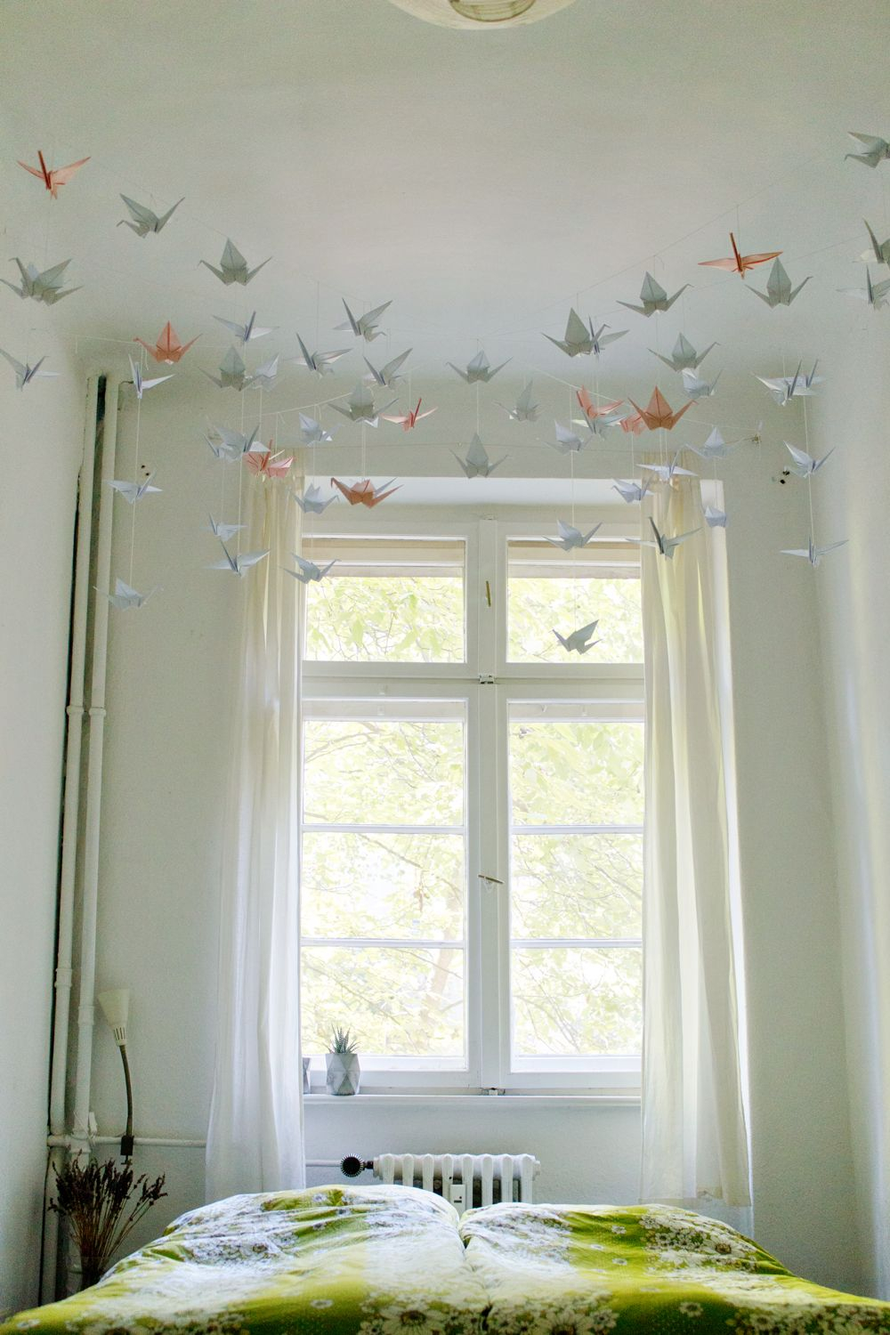 Origami Decoration Bedroom Diy In 2018 Origami Mobile Pinterest Decor Diy And Ceiling Decor