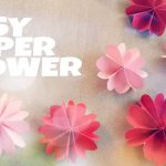 Origami Decoration Diy Diy Room Decoration With Paper Flower Youtube