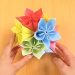 Origami Kusudama Flower How To Make How To Make A Kusudama Ball 12 Steps With Pictures Wikihow