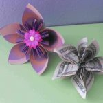 Origami Kusudama Flower How To Make How To Make A Money Origami Kusudama Flower
