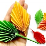 Origami Projects Decoration Easy Paper Leaf Great Fall Room Decor Diy How To Make A Paper