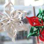 Origami Projects Decoration How To Make A 3d Paper Snowflake 12 Steps With Pictures