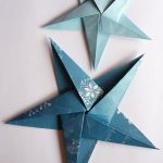 Origami Projects Decoration How To Make Folded Paper Christmas Decorations Crafts Pinterest