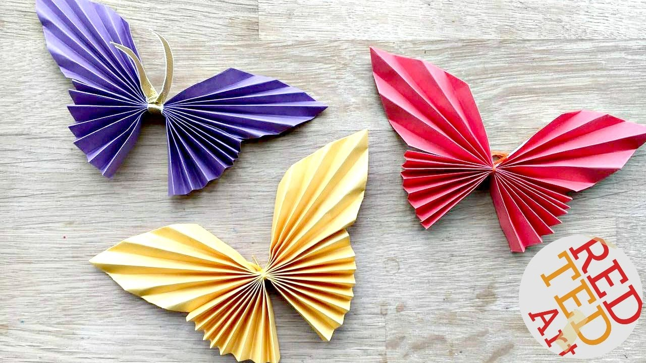 Paper Origami Easy Easy Paper Butterfly Origami Cute Easy Butterfly Diy Origami