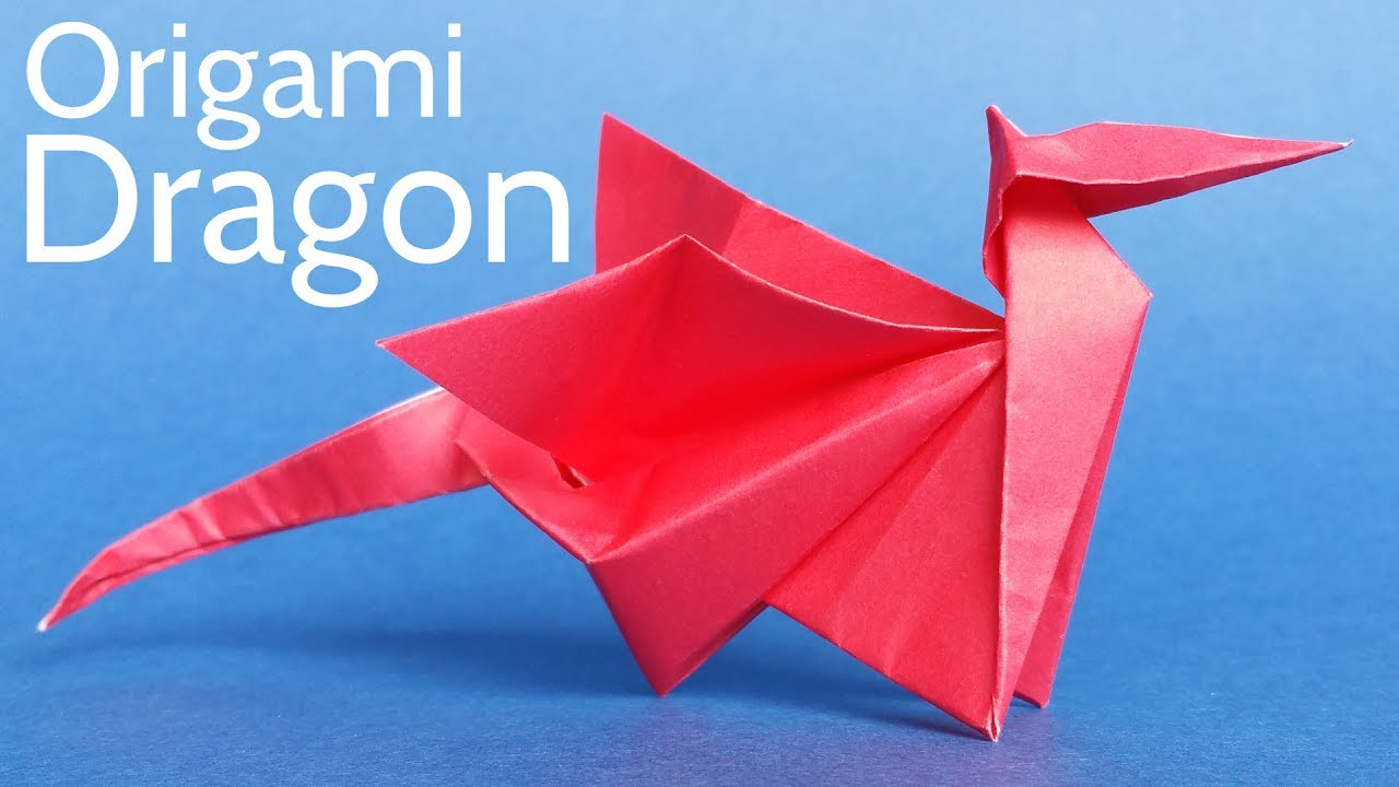 Paper Origami Step By Step Easy Origami Dragon Tutorial Step Step Instructions To Make An