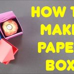 Paper Origami Step By Step How To Make Paper Box Easy Origami Step Step Tutorial On How To