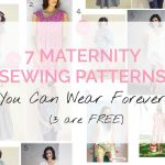 Pattern Sewing Free 7 Maternity Sewing Patterns You Can Wear Forever 3 Are Free Sew